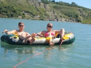 best calgary summer activities river rafting