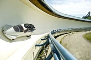 Bobsleigh Ride Summer Activities Canada Olympic Park Calgary
