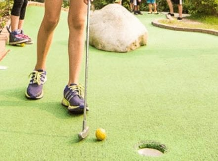 summer activities Canada olympic park winsport mini golf