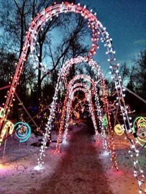 Calgary Zoo Lights 2013