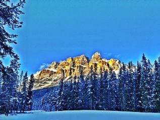 Mountains Canadian Rockies Alberta Canmore