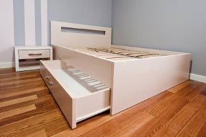 Storage Space Bed Drawer New Condo Guide Calgary