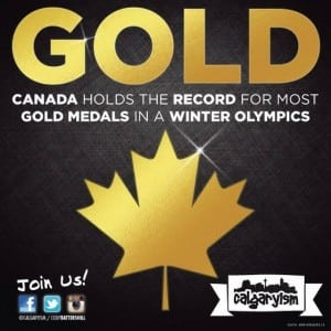 Canada Gold Medal Olympic Record Holder Infographic Calgaryism