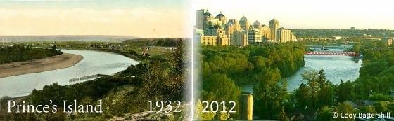 Prince's Island Park Calgary Alberta Downtown History
