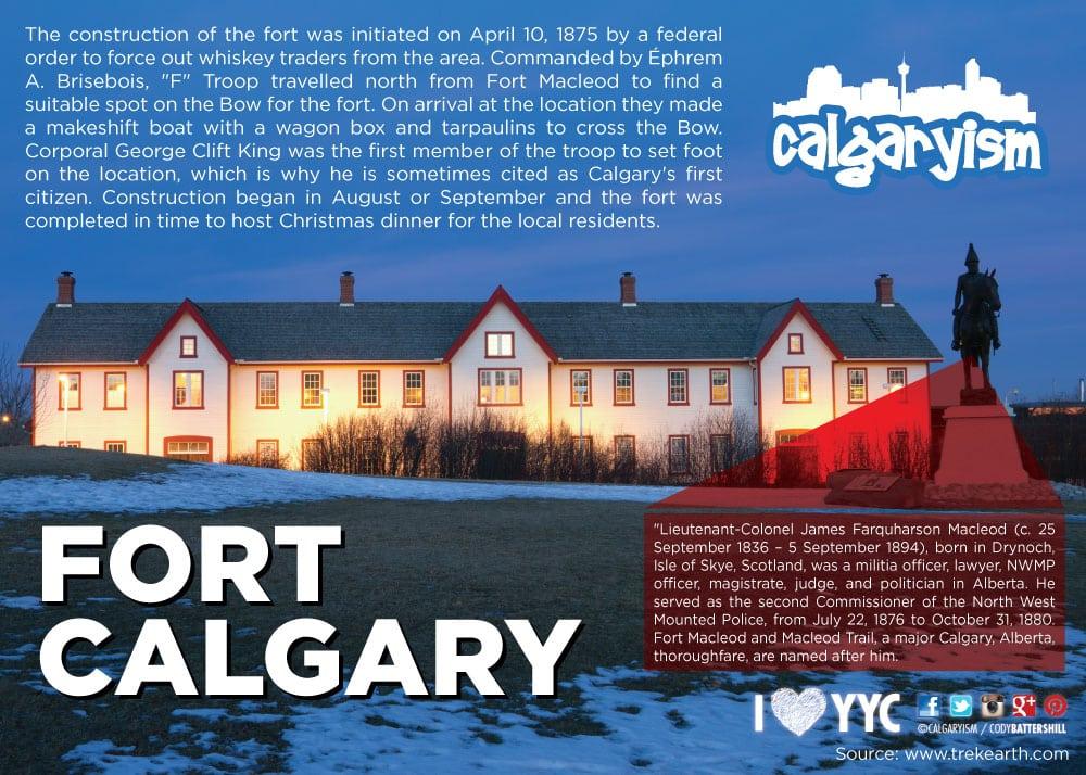 History of Calgary - Fort Calgary