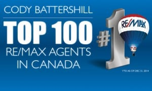 Top 100 REMAX Agents Canada Cody Battershill