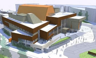 Mount Royal Conservatory Bella Concert Hall Concept Drawing