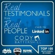 Cody Battershill REMAX Real Estate Agent LinkedIn referrals