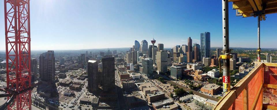 Guardian New Calgary Condos View