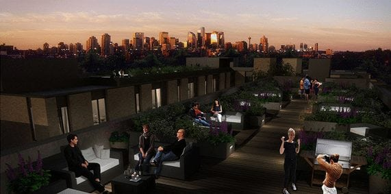 Altadore 36 New Calgary Inner City Townhomes Penthouse Flat