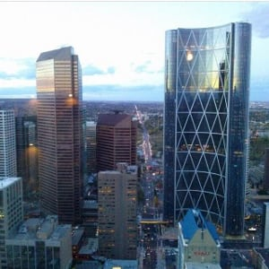 Bow Tower Petro Canada Building Downtown Calgary