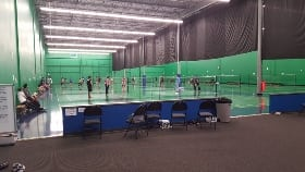 clearone badminton centre northeast Calgary Alberta