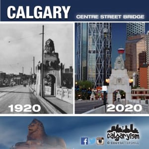 History of Calgary Centre Street Bridge