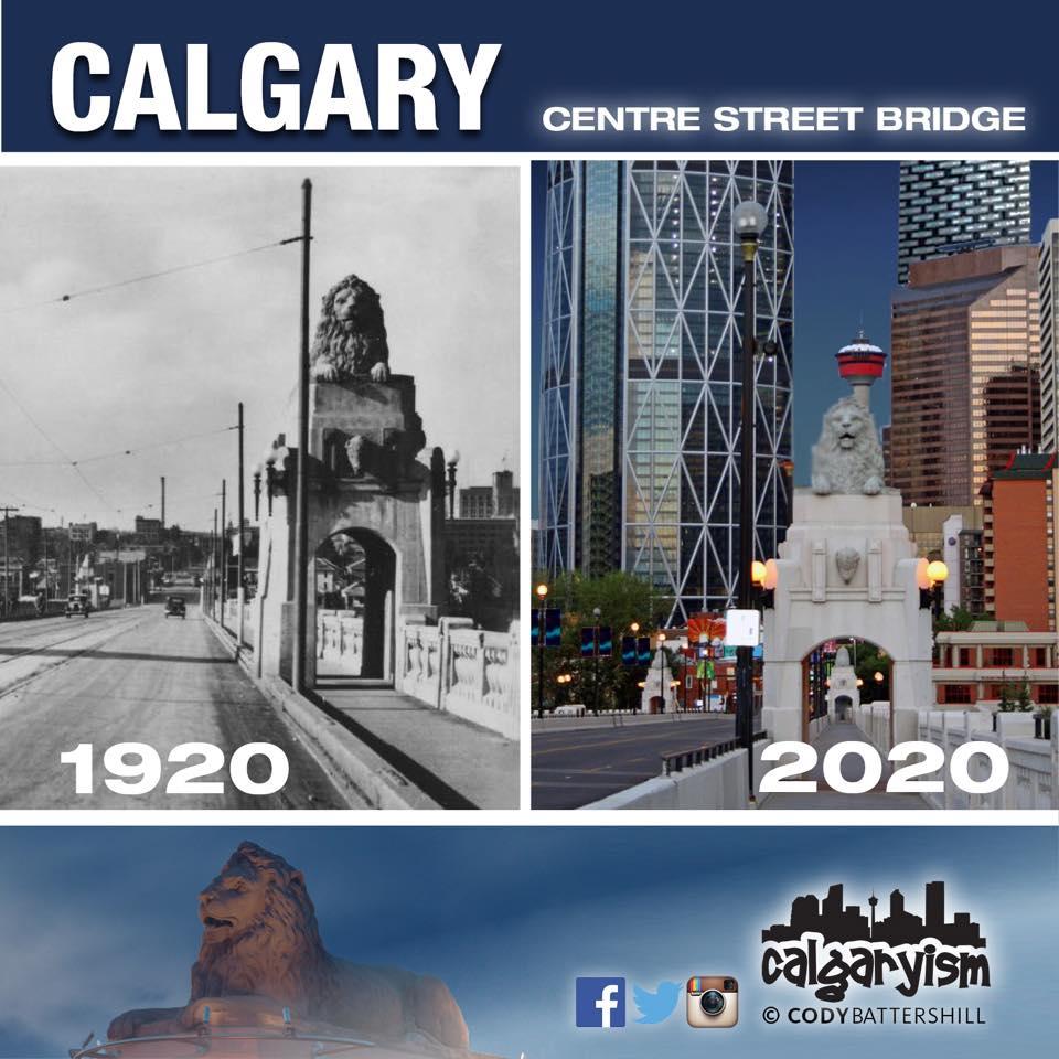 History of Calgary Centre Street Bridge