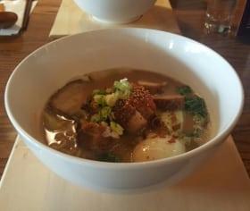 Ikemen ramen miso noodle soup kensington calgary