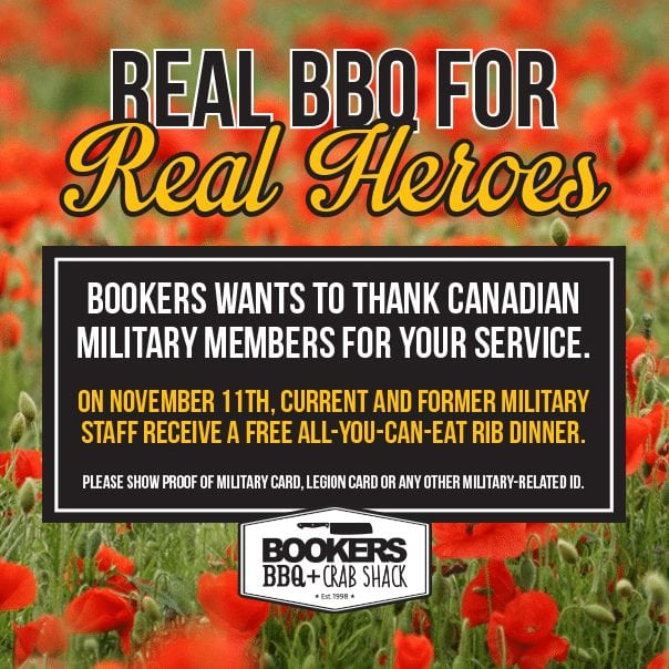 Bookers - Real BBQ for Real Heroes