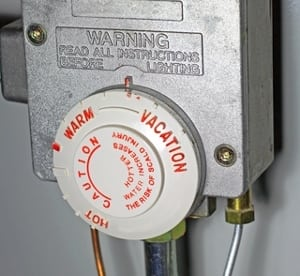 water tank heating control new homes calgary