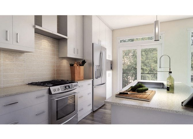 Concepts townhomes new northwest multi-family landmark homes interior itchen