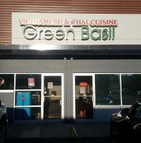 Calgary hidden gems Green Basil Vietnamese Thai restaurant