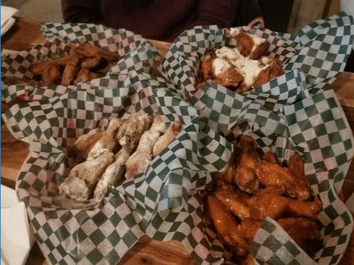 riverstone pub best chicken wings calgary