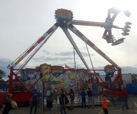 best classic calgary stampede ride fireball small