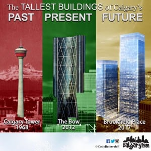 The Tallest Buildings of Calgary's Past, Present and Future