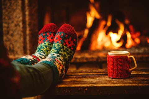 maintain a cozy home fireplace home sellers tips
