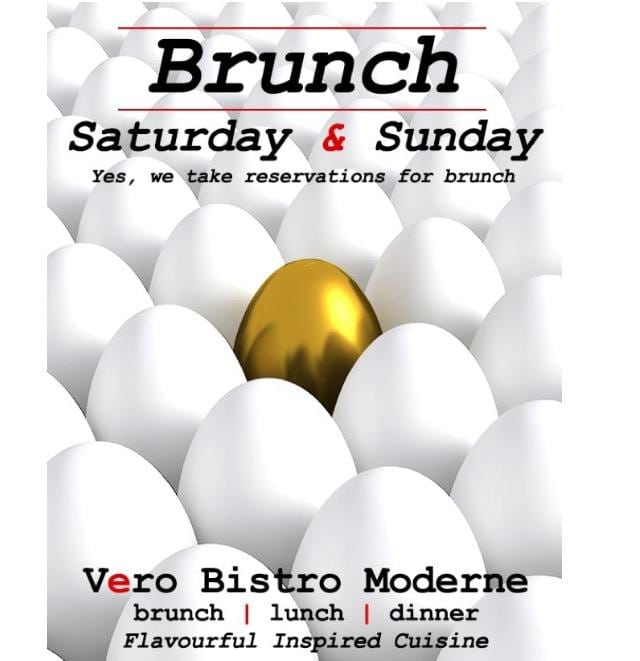 cool vero bistro moderne brunch poster calgary alberta with poster cuisine moderne. Black Bedroom Furniture Sets. Home Design Ideas