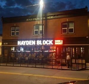 Hayden Block restaurant in Kensington, Calgary