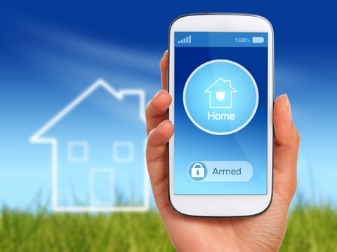 new home technology smartphone new construction home benefits