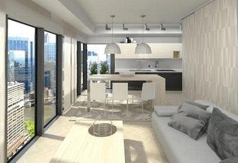 myriad new downtown condos calgary interior rendering