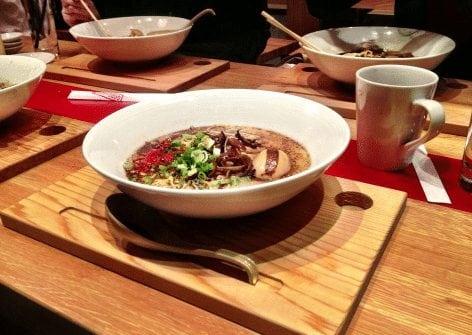 Goro + gun best Calgary ramen noodle bar