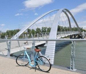 bike from n3 condos east village st. patricks island bridge