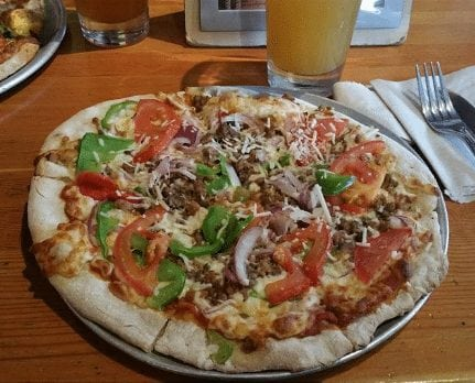 rocky mountain flatbread co. best restaurants in canmore, alberta