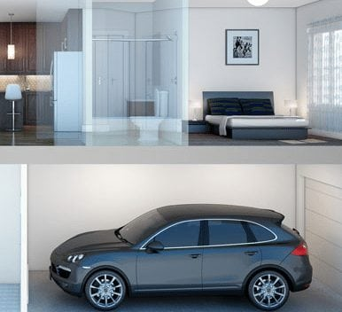 the link nw calgary townhomes interior brookfield residential