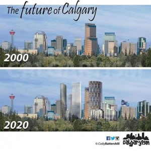 History of Calgary – Then & Now – 2000 vs. 2020