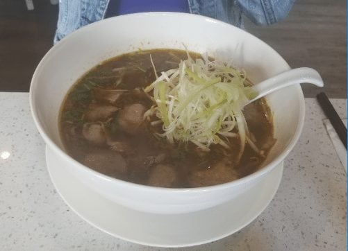 pure vietnamese beef pho sate soup