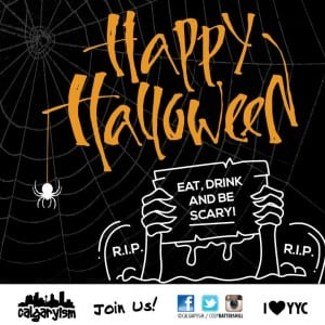top 10 halloween events in calgary alberta infographic