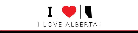 i love alberta canada mountains graphic