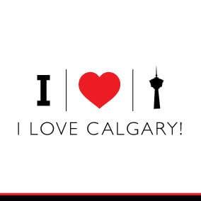 i love calgary i love yyc white