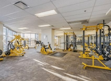 keynote condos calgary fitness gym facility