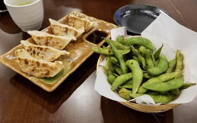 Tekkotsu Ya Japanese Ramen appetizers southeast Calgary