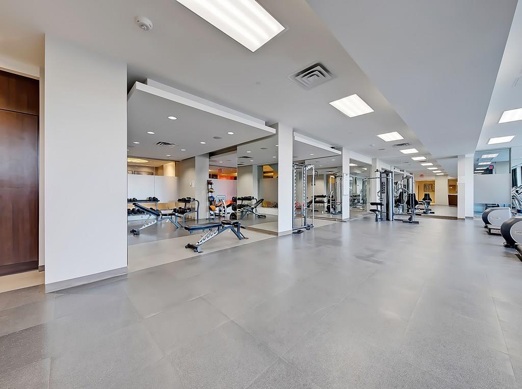 waterfront condos gym facility calgary