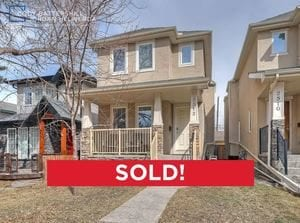 SOLD! – 2512 17A Street NW, Capitol Hill, Calgary