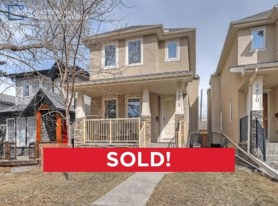 capitol hill calgary home sold by Cody Battershill, REMAX agent and REALTOR