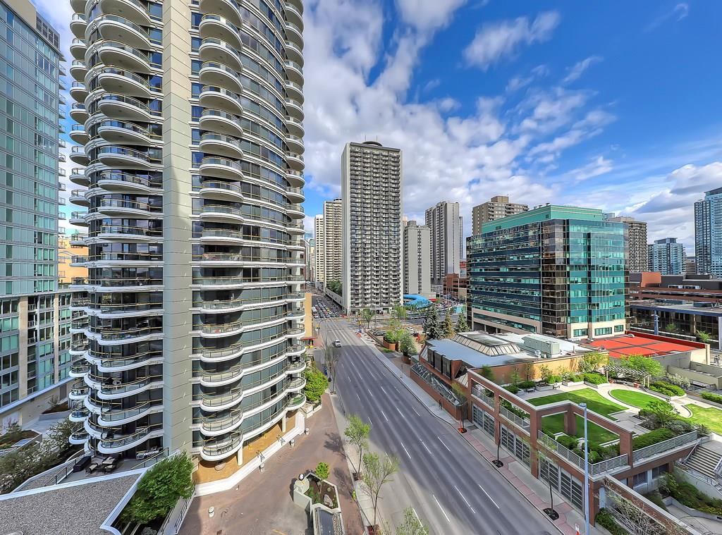 The Barclay at Riverwest condo listing for sale baclony view #904 1088 6th Avenue SW