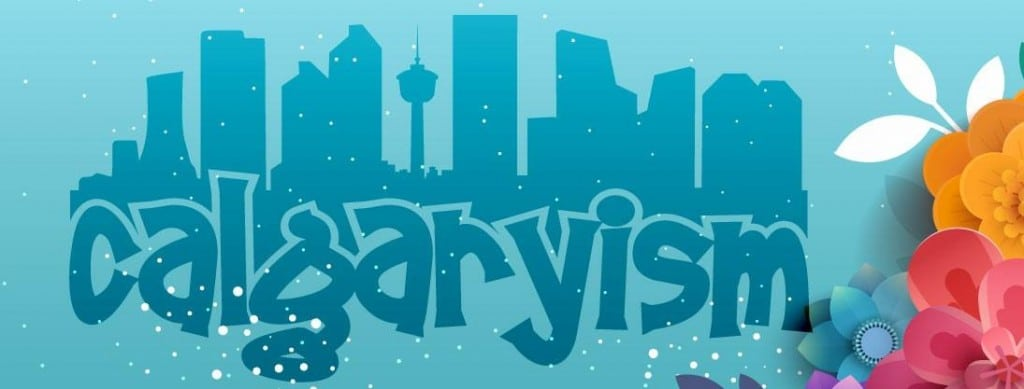 calgaryism i love YYC banner infographic