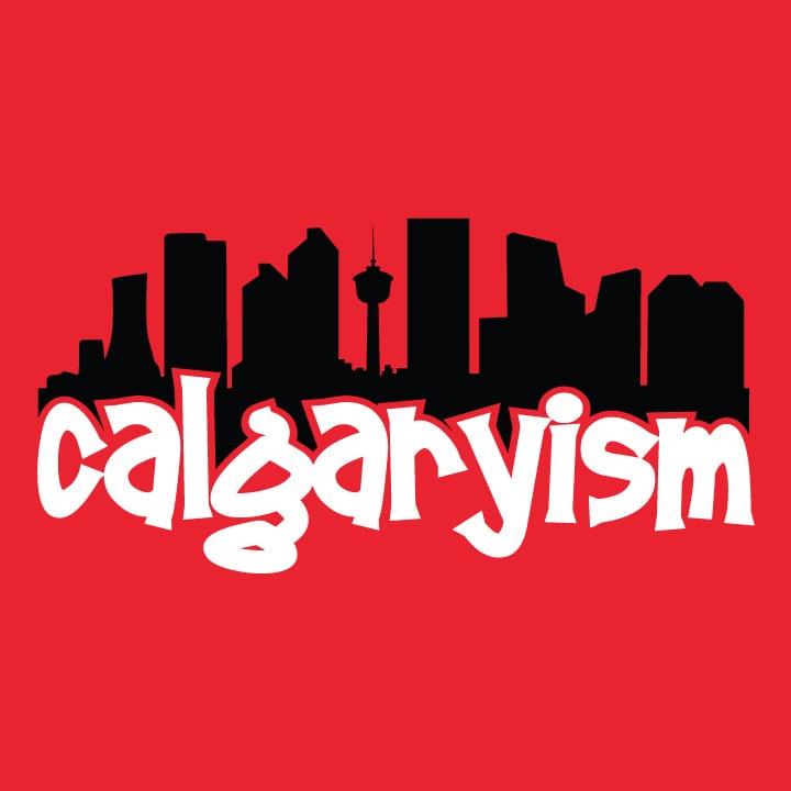 calgary background calgaryism logo graphic