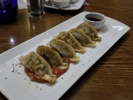 wagyu dumplings appetizer modern steak calgary