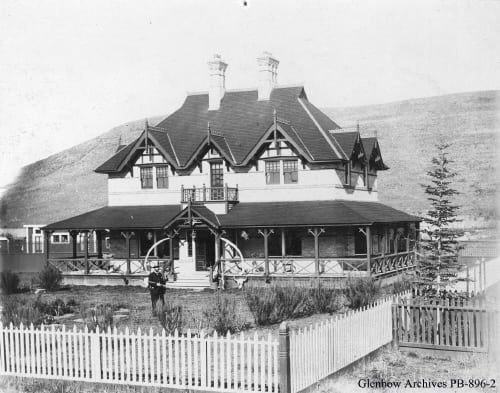 bow valley ranch early 1900s glenbow museum archives